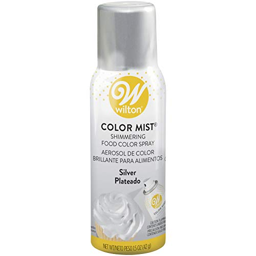 Wilton 710-5521 Metallic Color Mist, 1.5 oz, Silver]()