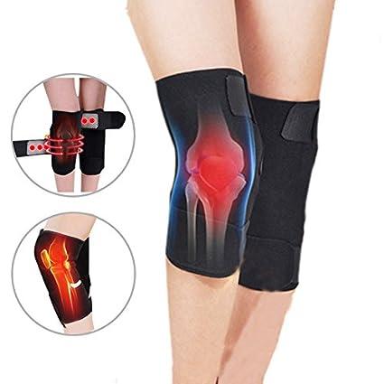 Zantec Terapia Magnética almohadilla protejer la rodilla Rodilleras Ajustable deportivo Masajeador de Rodilla Cuidado de La