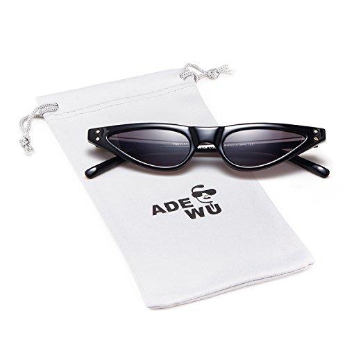 8bceccf799 ADEWU Gafas de sol retro pequeñas con ojos de gato 30% de descuento ...
