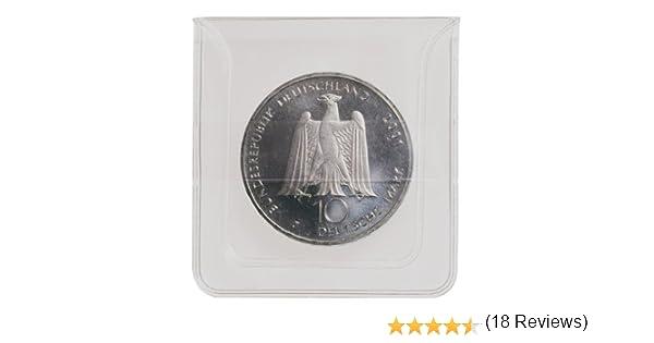 Lindner 2051 Fundas para monedas compuestas de l/ámina transparente de PVC.
