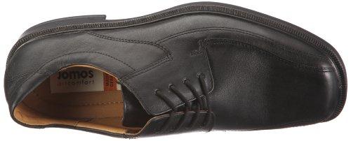 2 Zapatos cuero para clásicos 22188 Jomos de hombre Negro Strada xTPFwFn7