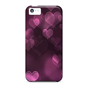 High Quality KAx20541IkgK Floating Hearts Cases For Iphone 5c