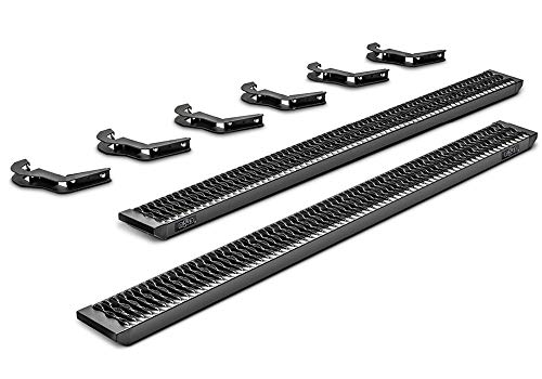 N-FAB Growler Fleet Cab Length Step, Textured Black | GFF15CC-TX | fits Ford F-150, 17-19 F250 / F350 / F450 Superduty Crew Cab  15-19 (2017 Ford F 350 Crew Cab Configurations)