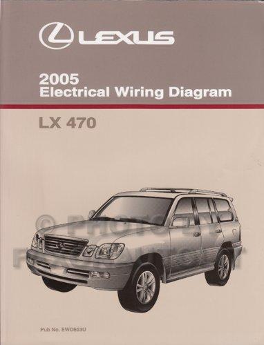 2005 Lexus LX 470 Wiring Diagram Manual Original ()
