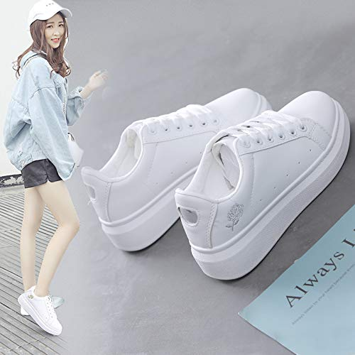 Tamaños Blancos Ca five Transpirable Sneakers PU pequeños sual Thirty Zapatos nbsp;Zapatos Zapatos Wild Artificial Flat WFCAYDHN Individuales YfqCw66x