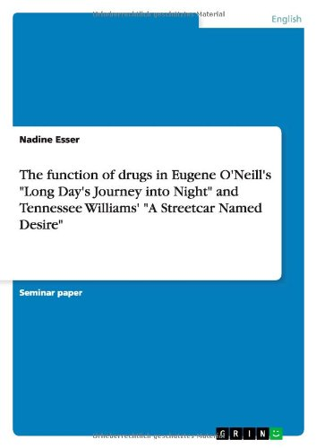 The function of drugs in Eugene O'Neill's ''Long Day's Journey into Night'' and Tennessee Williams' ''A Streetcar Named Desire'' by Brand: GRIN Verlag GmbH