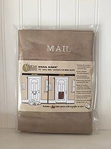 Amazon Com Snail Sakk Mail Catcher For Mail Slots Tan