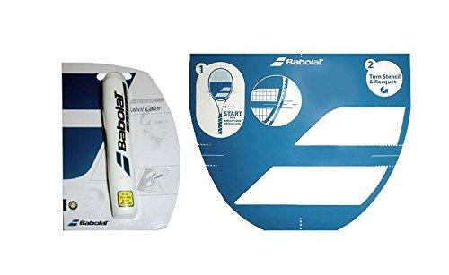 Babolat Tennisschläger String Schablone und Ink Marker
