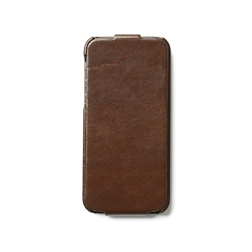 Zenus Avoc Toscana Folder Case/Tasche Braun für Apple iPhone 5/5S