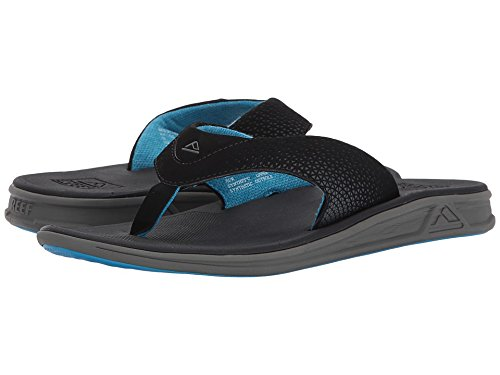 (Reef Mens Sandals Rover | Athletic Sports Flip Flops for Men with Soft Cushion Footbed | Waterproof)