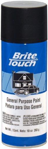 VHT BT43 10 Ounce Brite Touch Flat Black Automotive and General Purpose Paint