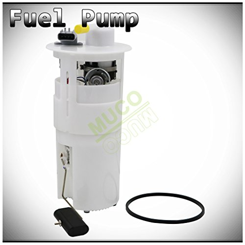 MUCO New 1pc Electric Intank Fuel Pump Module Assembly w/Fuel Level Sensor Sending Unit Fit Chrysler Dodge 00-04 300M/Concorde/LHS/Intrepid E7152M