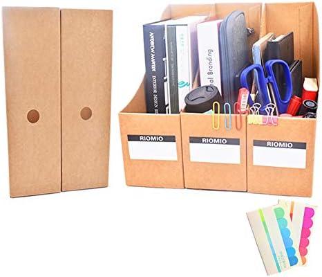 Revistero organizador de archivos de escritorio, caja de ...