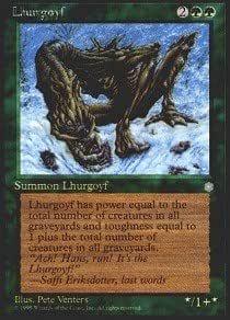 MTG 1x LHURGOYF Ice Age *Rare PLAYED*