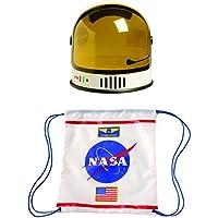 Aeromax Youth Astronauta Casco y Astronauta Cordón Mochila (2 Piezas)