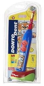 Dontodent Kids - Cepillo de dientes eléctrico con batería para niños