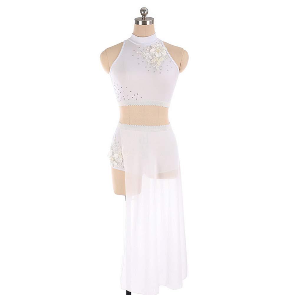 DILIKEXUE Eiskunstlaufkleid für Mädchen Frauen Frauen Frauen Eislaufen Wettbewerb Leistung Kostüm Tanzkostüm Kleid Professionelle Stretch Atmungsaktiv B07MGPYGWB Bekleidung Hohe Qualität und günstig 0b82db