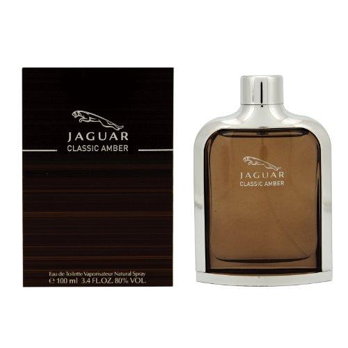 - Jaguar Classic Amber Eau De Toilette Spray for Men, 3.4 Ounce