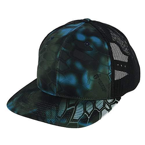Richardson 112P Kryptek Neptune/Black Structured Snap Back Trucker Hat