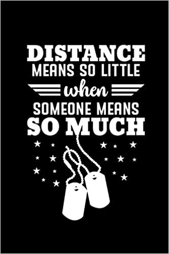 Distance Means So Little Deployment Gifts For Boyfriend Military