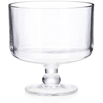 Home Essentials & Beyond 9411 Maison Trifle Bowl - 100 oz.,, Clear