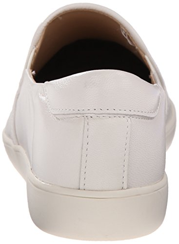 Nine West Lildevil Leather Fashion Sneaker Off White/Off White