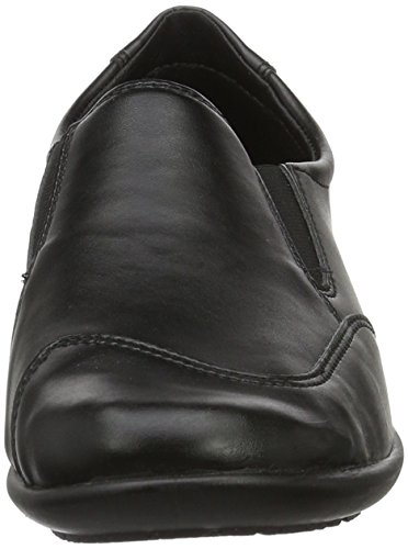 Mocasines 90 negro Mujer Melle negro Negro Rohde para wT6nf
