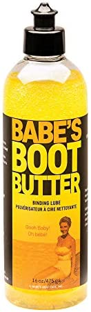 BABE'S Boot Butter Lubricant for Water Ski Bindings - 16 oz. - Water Sport Lube Made with