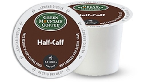 Green Mountain Coffee Medium Roast K-cup for Keurig Brewers, Half-caff Coffee, 192-count