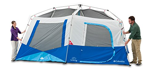 Columbia Fall River 10 Person Instant Tent (Compass Blue)  sc 1 st  C&ing Companion : columbia tent - memphite.com
