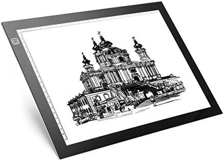 Tablero de Dibujo led, M.Way A4 LED Tableros de Dibujo de Seguimiento de Caja de