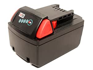 Milwaukee 2630-22 Battery - Replacement Milwaukee 18V Battery (1500mAh, Lithium-Ion)