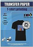PPD Inkjet PREMIUM Iron-On Dark T Shirt Transfers