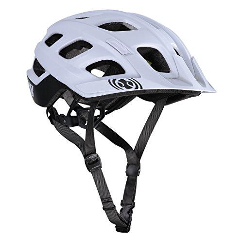 iXS Trail XC Trail Biking Helmet - 470-510-6120 (White - M/L)