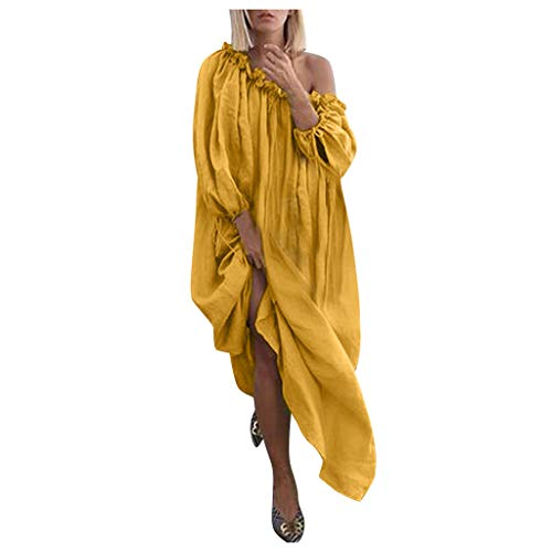 CCOOfhhc Women's Dresses,Sexy Off Shoulder Long Sleeve
