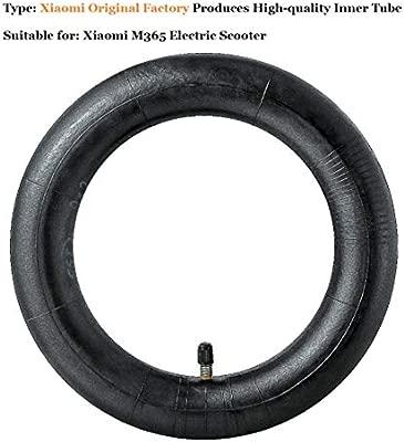 aibiku 2 x Cámaras de Aire (Tubo Interior), para Patinete Eléctrica Xiaomi M365 Neumático Inflado Scooter Rueda Cámaras de Aire 8 1/2 x2 - Válvula ...