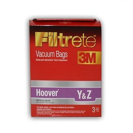 Amazon.com: Hoover y & Z microallergen Bolsa por Filtrete ...