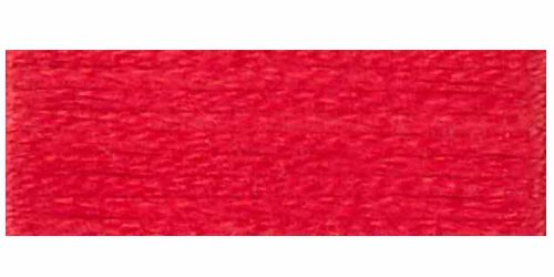 Dmc 6 Strand Embroidery Cotton Floss  Light Christmas Red