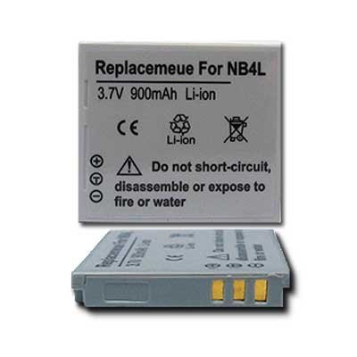 Nb 4l Battery Pack (NEW TWO BATTERY For CANON PowerShot SD 200 300 400 750 1000 NB-4L NB4L)