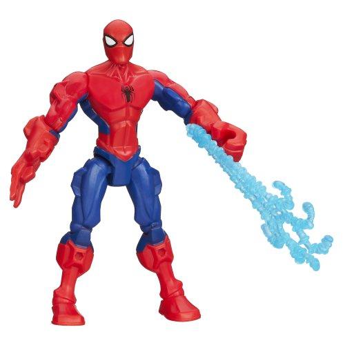 Marvel Super Hero Mashers Spider-Man Figure 6 Inches ()