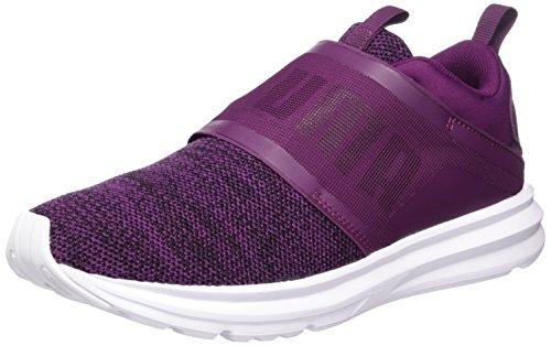 Multisport Womens Knit Schuhe Enzo Puma 03 Schwarz Purple Strap Dark Outdoor Lila Schwarz tId6tqw