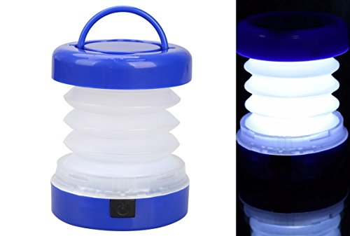 1 Piece 5 LED Waterproof Portable Scalable Mini Tent Light Outdoor - Camping Lantern Lights -Led Camping (Remote Pop Up Set)