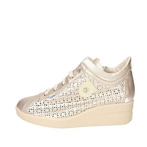 zeppa A donna Oro BY sneakers RUCOLINE AGILE 226 SPAKO AIUqOn