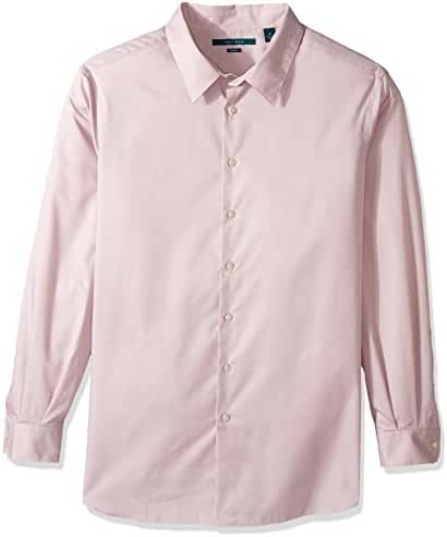 Perry Ellis Men's Big and Tall Travel Luxe Non-Iron Luxury Twill Shirt