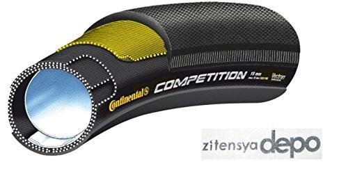 【国内正規代理店品】Continental(コンチネンタル) COMPETITION(コンペティション) チューブラータイヤ +zitensyadepoステッカー B072PSLMX6 28×25mm