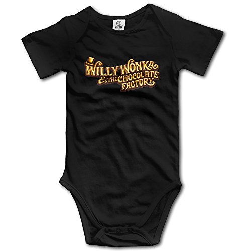 Willy Wonka And The Chocolate Factory Logo Toddler Funny Baby Onesie (Willy Wonka Funny)