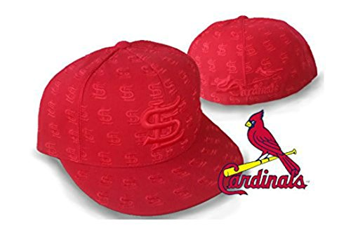 Genuine Merchandise St. Louis Cardinals DICE Fitted Size 7 1/2 Cooperstown Collection Hat Cap - Cardinals Red