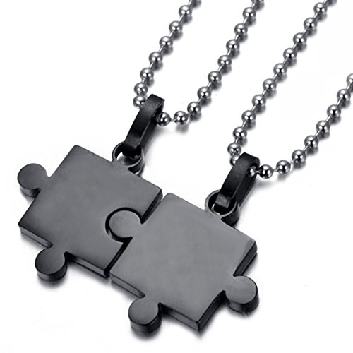 Loveshine Jewelry Couples Stainless Necklace