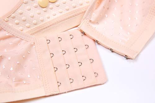 Trace Nude Nursing Button Kairuigeli Underwear Pregnant Double No Women Front sagging Bra Rims Anti gF0qaA