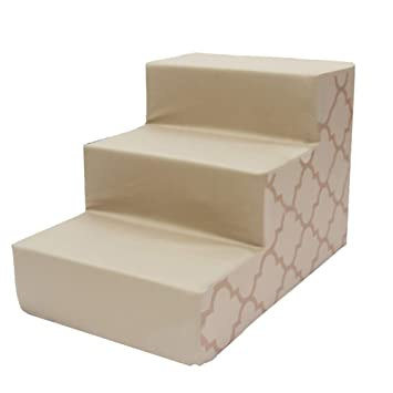 XUEYAN Escalera pequeña para Mascotas de 3 Pasos para escaleras pequeñas para Perros para Camas Altas y sofá Alto, extraíble (Color : Green): Amazon.es: ...
